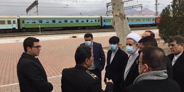 بازدید هیات پارلمانی ایران از نقطه صفر مرزی رود ارس حین بازگشت از آذربایجان