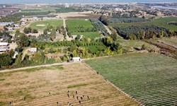 رژیم صهیونیستی، زمینهای کشاورزی فلسطینیان را زیر آب غرق کرد