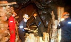 فیلم|حادثه ریزش معدن منگنز در قم