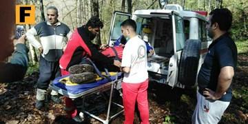 سقوط از ارتفاع مرد ۴۹ ساله در جنگلهای بندرگز