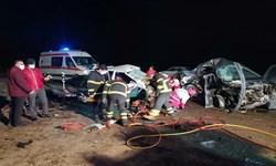مصدومیت ۱۰ نفر در یک حادثه رانندگی در شهرستان بویراحمد