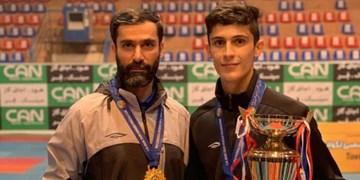 تکواندوکار جوان آذربایجانشرقی فنیترین مبارز لیگ
