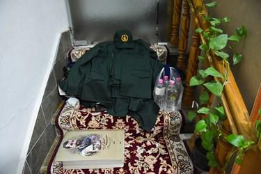 مراسم شب وداع با پیکر شهید مدافع وطن مصطفی نوروزی