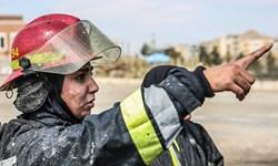 کرونا آزمون جذب آتش نشانان زن  را به تعویق انداخت