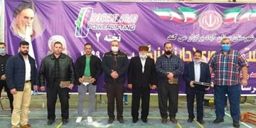 نفرات برتر مسابقات ددلیفت کلاسیک کاپ آزاد معرفی شدند