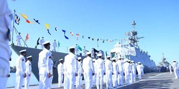 بازگشت هفتاد و یکمین ناوگروه نیروی دریایی ارتش از ماموریت دریایی