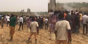 سقوط مرگبار جنگنده ارتش نیجریه+فیلم