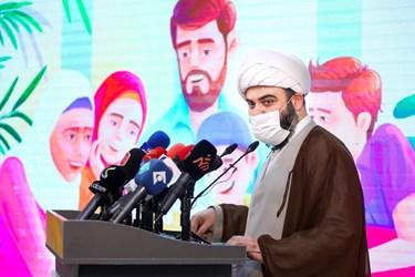 سخنرانی حجتالاسلام محمد قمی رئیس سازمان تبلیغات اسلامی در مراسم رونمایی از سبد محصولات زندگی تبیان