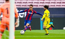هفته بیست و چهارم لالیگا| بارسلونا در دقایق پایانی پیروزی را از دست داد