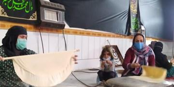 همدلی زنان طولیان با زلزلهزدگان سیسخت+فیلم