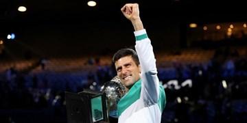 نگاهی به درآمد تنیسورها از جوایز مسابقات/جوکوویچ در صدر قرار گرفت