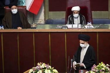 آیتالله سید هاشم حسینی بوشهری در هشتمین اجلاسیه پنجمین دوره مجلس خبرگان رهبری
