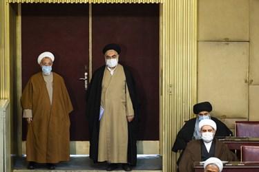 ورود اعضای پنجمین دوره مجلس خبرگان رهبری به هشتمین اجلاسیه