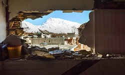 روند کند ساخت و سازها در شهر زلزلهزده سیسخت