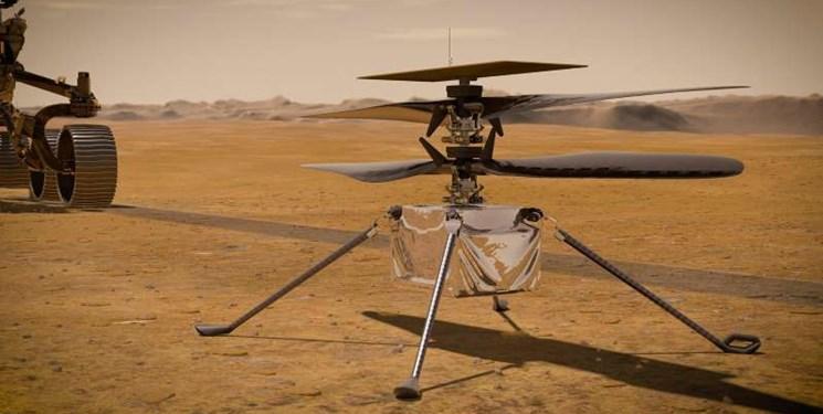 ضبط صدای یک کاوشگر توسط یک فضاپیما برای نخستینبار/ صدای بالگرد «نبوغ» را در پرواز روی مریخ بشنوید+فیلم