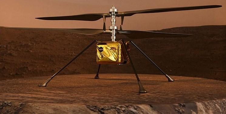 چهارمین پرواز نخستین هلیکوپتر مریخی/ مأموریت جدید نبوغ در مریخ