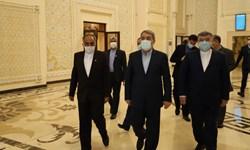 وزیر کشور وارد تاجیکستان شد+عکس