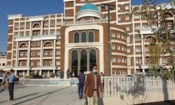 اجرای فرآیند تصفیه فاضلاب در بیمارستان شهید هاشمینژاد مشهد