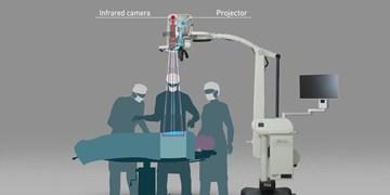 ابداع دوربین فیلم برداری زنده از جراحی بیماران