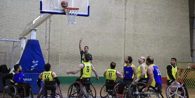 شهروند آمل قهرمان مسابقات جام حذفی بسکتبال با ویلچر شد