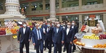 بازدید «رحمانی فضلی» از مجتمع «مهرگان» تاجیکستان + تصویر