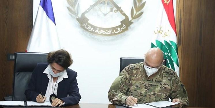لبنان و فرانسه سه توافق دفاعی امضاء کردند