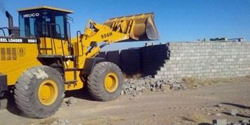 رفع تصرف اراضی ملی در مهدیشهر