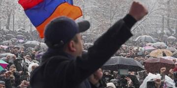 دور جدید اعتراضات در ارمنستان؛ معترضان خواستار استعفای پاشینیان شدند