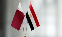 هیأتهای قطر و مصر برای اولین بار بعد از آشتی دیدار کردند