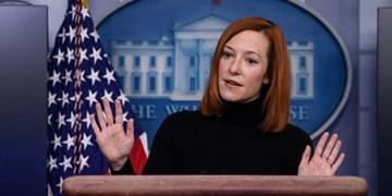 کاخ سفید: تحریمها تنها در صورت بازگشت ایران به تعهدات برجامی قابل رفع است