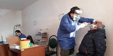 حضور تیمهای بسیج جامعه پزشکی استان در خلخال/ تست Rapid در روستاها انجام شد
