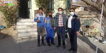 آمادگی تیم تأسیساتی برای ارائه خدمات رایگان به زلزلهزدگان شهر سیسخت/فیلم