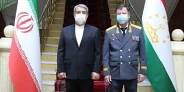 تأکید وزرای کشور ایران و تاجیکستان بر توسعه روابط در همه ابعاد