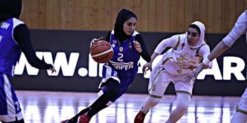 پلیآف بسکتبال بانوان  مهرام و گروه بهمن به دنبال فینالیست شدن