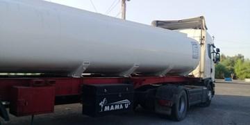 توقیف کامیون تانکردار با 20 هزار سوخت قاچاق در محور ایرانشهر