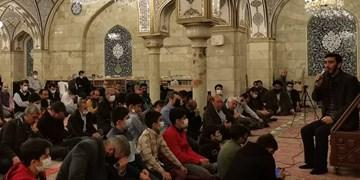مداحی مهدی رسولی و دعاخوانی آهنگران در حرم حضرت رقیه(س)+فیلم