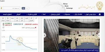 کاهش 5915 واحدی شاخص بورس تهران / ارزش معاملات به 18 هزار میلیارد تومان رسید
