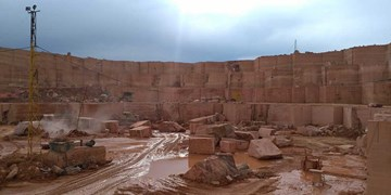 سنگ قرمز تزئینی آذرشهر؛ طلای سرخ آذربایجان