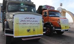 ارسال کمکهای اهدایی مجتمع مس سرچشمه رفسنجان به مردم زلزلهزده سیسخت