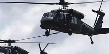 آمریکا دو بالگرد نظامی حامل سلاح و مهمات برای گروههای مسلح سوریه فرستاد