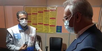 بازدید معاون استاندار  از نحوه ارائه خدمات سلامت در فرودگاه شهید هاشمی نژاد مشهد