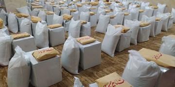 توزیع بسته معیشتی به مناسبت ولادت امام علی(ع) در قزوین
