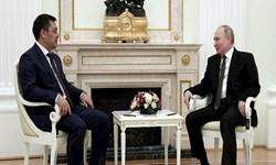 رؤسای جمهور روسیه و قرقیزستان  در «مسکو» دیدار کردند