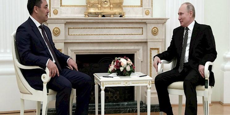 قرقيزستان،رئيس،جمهور،روسيه،روابط،جباراف،پوتين،سفر،كشور،همكار ...