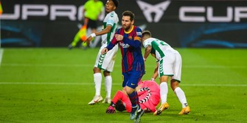 فیلم/خلاصه بازی بارسلونا 3 - الچه صفر؛ سوپرگل مسی
