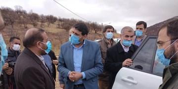 بازدید نائب رئیس مجلس شورای اسلامی از روستای گردشگری کریک