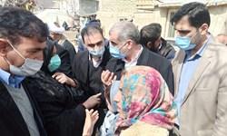 فیلم/نطق پیرزن سیسختی نزد نایب رئیس مجلس/درخوست زلزلهزدگان از نیکزاد