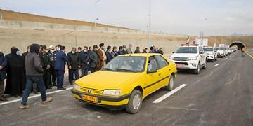 افتتاح آزادراه غدیر