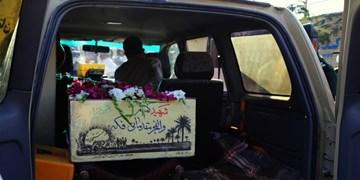 استقبال از دو شهید گمنام در بوشهر