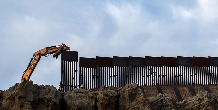 دولت بایدن قصد دارد دیوار مرزی ترامپ را ادامه دهد